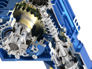 presion-worm-gearbox